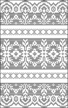 Gallery.ru / Фото #61 - рушники 3 - mishalkina87 Fillet Crochet, Fair Isle Knitting, Knit Crochet, Crochet Chart, Crochet Borders, Embroidery Patterns, Cross Stitch Embroidery, Crochet Patterns, Le Point