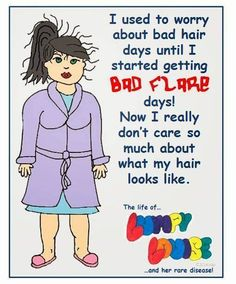 Some days my head hurts too bad to care. RA SUCKS!!! ❣Julianne McPeters❣ no pin…