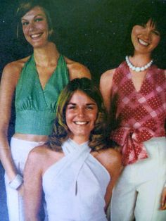 70s Halter Tops Sewing Pattern Butterick 3102 Size 12 UNCUT