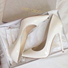 Jimmy Choo Shoes #Womens shoes, fashion, and white #GetTheLook Jimmy Choo Glasses, Jimmy Choo Shoes, Prom Heels, Wedding Heels, Stiletto Shoes, Fashion Heels, Ankle Strap Heels, Ankle Straps, Ankle Boots