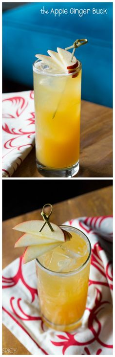 The Apple Ginger Buck #cocktail #drink