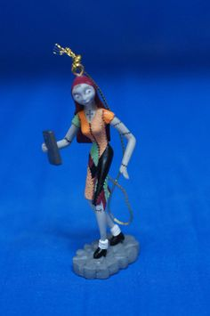 Nightmare Before Christmas Sally Storybook Ornament Disney Store Figurine #DisneyParksExclusive