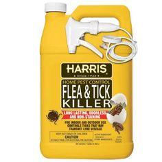 Harris 1 gal. Flea and Tick Killer-HFT-128 at The Home Depot