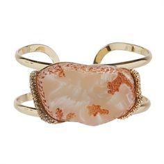 Stony Jewelry Natural Stone Cuff Bracelet   from Von Maur #VonMaur #StyleCorner #Accessory #Stone