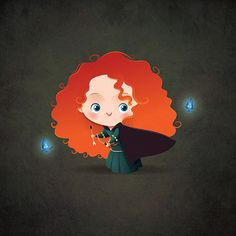 Little Princess Merida - Brave