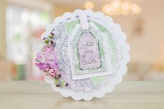 The Peach Sorbet collection brings a new concept, building on the incredibly popular torn edge collections.   For more information visit: www.tatteredlace.co.uk Peach Sorbet, Tattered Lace Cards, Lace Flowers, Card Making, Shabby, Concept, Homemade, How To Make, Collections