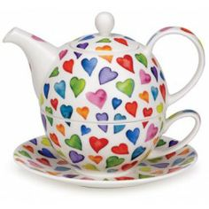 Warm Hearts Tea for One