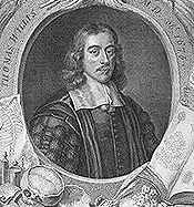1664 - Thomas Willis publishes Cerebri anatome (in Latin): Circle of Willis is named after him