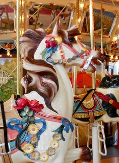Carousel Horse- loved going on the roundabout. Hobby Horse, My Horse, Circle Game, Amusement Park Rides, Rocking Horses, Painted Pony, Merry Go Round, Carousel Horses, County Fair