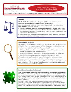 Great information pertaining to IEP