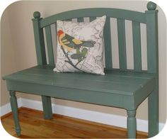Headboard bench - something to do with our old headboard