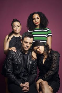 Plus, the casts of 'Charmed' and 'Impulse. Charmed Tv Show, New Charmed, Rupert Evans, Studio Portraits, Studio Photos, Drama Tv Series, Drama Tv Shows, Fantasy Shows, Sarah Jeffery