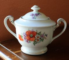 Made in Occupied Japan Sugar Bowl by Sugarandtrash on Etsy, $11.99
