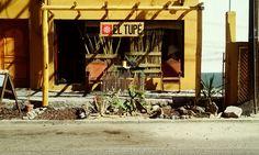 Fachada del restaurante El Tupé en La Paz Baja California Sur