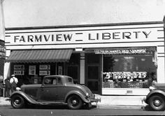 Farmview and Liberty markets, Cleveland Heights, OH, 1935. Cleveland Heights Historical Center/Cleveland Memory.