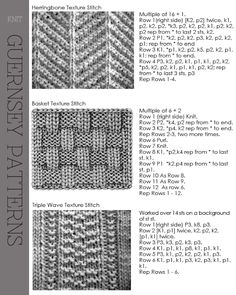 charts for gansey sweaters Knitting Stiches, Knitting Charts, Loom Knitting, Knitting Patterns Free, Stitch Patterns, Knit Stitches, Knit Patterns, Image Pinterest, Creative Knitting