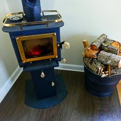 Cubic Mini Wood Stoves - Gallery