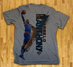 Carmelo Anthony Upper Echelon NBA All-Star T-Shirt, East