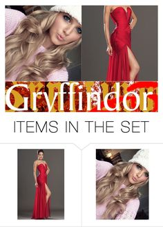 """""""Grace Gryffindor"""" by maxinehearts ❤ liked on Polyvore featuring art"""