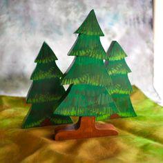 Waldorf Toy All Season Pine Tree Wooden by TheEnchantedCupboard, $15.00