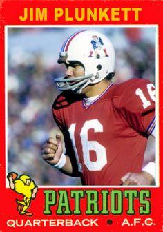 1971 Jim Plunkett Football Memes, Nfl Football, Football Players, Football Trading Cards, Football Cards, Baseball Cards, Patriots Quarterbacks, American Athletes, New England Patriots Football