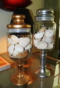 Repurposed glass Apothecary/candy/storage jars