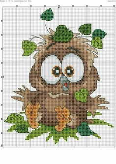 Thrilling Designing Your Own Cross Stitch Embroidery Patterns Ideas. Exhilarating Designing Your Own Cross Stitch Embroidery Patterns Ideas. Cross Stitch Owl, Cross Stitch Animals, Cross Stitch Charts, Cross Stitch Designs, Cross Stitching, Cross Stitch Embroidery, Cross Stitch Patterns, Bird Embroidery, Loom Patterns