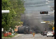 Crude Oil-Carrying Train Derails And Explodes, Destroying The Center Of A Quebec Town