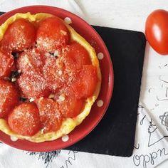 Tarte Tatin Tomate Chèvre et Safran