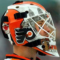 NHL Goalie Masks By Team   NHL Goalie Masks by Team (2009-10) - Michael Leighton   Sports ...
