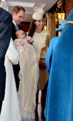 What an angel! Prince George looked absolutely adorable during his christening ceremony, which was a... - Rex USA