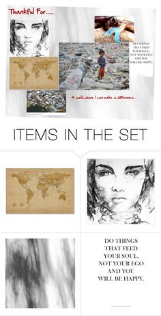 """""""Thankful for...."""" by sandjpopescu ❤ liked on Polyvore featuring art"""