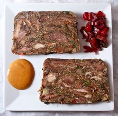 Phoxtail Terrine. This just looks incredible. Use basic recipe as base for simpler flavors.