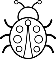 Bug Coloring Pages For Kids Free Ladybug Coloring Pages To Print Out And Color. Bug Coloring Pages For Kids Coloring Ideas Printable Insect Coloring P. Insect Coloring Pages, Ladybug Coloring Page, Butterfly Coloring Page, Coloring Pages To Print, Colouring Pages, Printable Coloring Pages, Adult Coloring Pages, Coloring Pages For Kids, Coloring Books