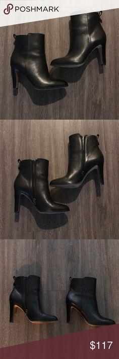 aede024dcf40 SOLD OUT Coach Jemma soft calf black ankle boots 8 SOLD OUT Coach Jemma  soft calf