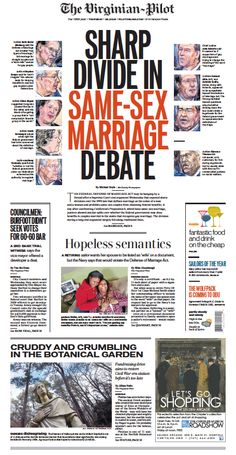 The Virginian-Pilot's front page for Thursday, March 28, 2013.