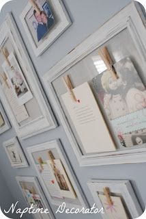 Naptime Decorator: The Gallery Wall...of Cards