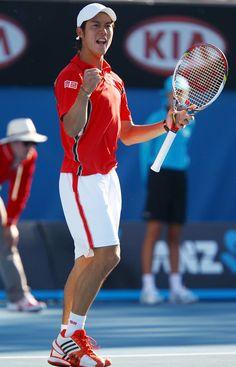 Kei Nishikori.  January 2012.  #tennis