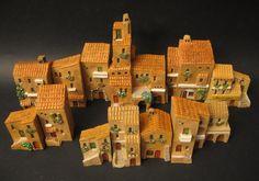 Miniature casette Rurali Mini terre.  (casette in miniatura, little houses, mini land, miniature)