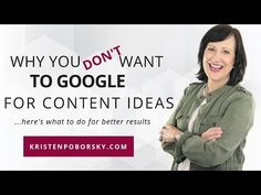 I'm bullish on creating content plans...they work like gangbusters. However, here's solid reasons why you don't want to use google to create your content plan. I Will Show You, You Really, Student, Social Media, Content, Marketing, How To Plan, Create, Google