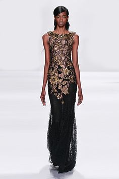Badgley Mischka Fall 2014 Runway Show