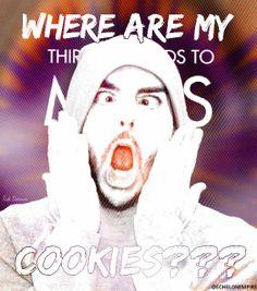 WHERE ARE MY COOKIES?? #MARSart #COOKIES #SHANNONLETO