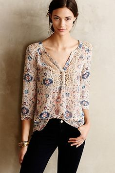 Stillwater Blouse #anthropologie - I have this