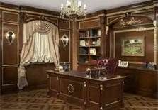 Classic office in english style english charm