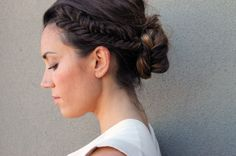 20 Low Buns to Make You Forget the Topknot via Brit + Co