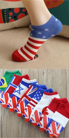 1 Pair Men Fashion New Ankle Socks Low Cut Crew Casual Color Cotton Socks