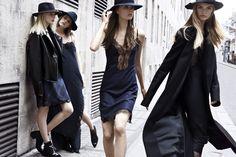 Zara F/W 2013.14 campaign ft. Ashleigh Good, Caroline Brasch Nielsen, Julia Nobis, Juliane Gruner, and Mila Mijo Mihaljcic.