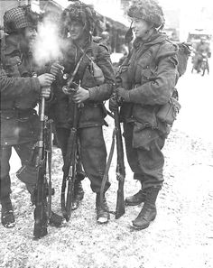 paratroopers during the Battle of the Bulge
