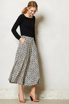Bellport Wide-Leg Crops #anthropologie. Gauchos are on the up and up!