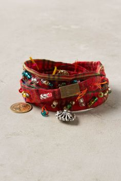 another DIYable anthropologie bracelent: Wish Fulfillment Wrap Bracelet